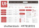 vector ui kit web template