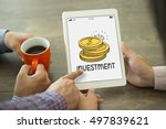 investment concept | Shutterstock . vector #497839621
