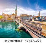 beautiful view of the historic... | Shutterstock . vector #497871019