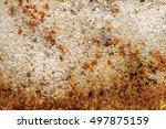 metal background. | Shutterstock . vector #497875159