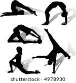 gymnastics   Shutterstock .eps vector #4978930