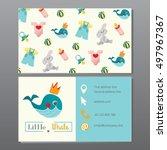 kids store  newborn clothes ... | Shutterstock .eps vector #497967367