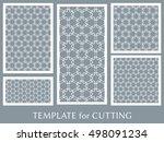 wedding invitation  greeting... | Shutterstock .eps vector #498091234