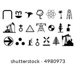 signs   icons collection  1.... | Shutterstock . vector #4980973