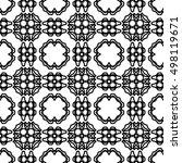 line ornament pattern. black... | Shutterstock .eps vector #498119671