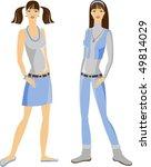 girl   Shutterstock .eps vector #49814029
