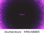 abstract bright purple shimmer... | Shutterstock .eps vector #498148885