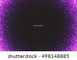 abstract bright purple shimmer... | Shutterstock .eps vector #498148885