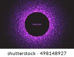 abstract bright purple shimmer... | Shutterstock .eps vector #498148927