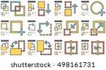 content edition vector line... | Shutterstock .eps vector #498161731