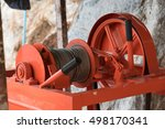 electric winch for construction | Shutterstock . vector #498170341