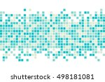 abstract squares background.... | Shutterstock .eps vector #498181081