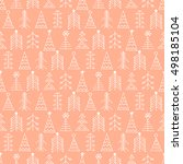 seamless vector pattern with... | Shutterstock .eps vector #498185104