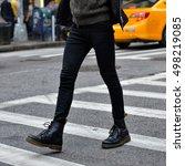 men fashion concept. man wear... | Shutterstock . vector #498219085
