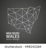 new south wales vector black... | Shutterstock .eps vector #498242284