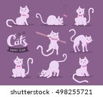 vector collection of... | Shutterstock .eps vector #498255721