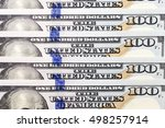collection of american dollars. ... | Shutterstock . vector #498257914
