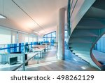 interior of a company modern... | Shutterstock . vector #498262129