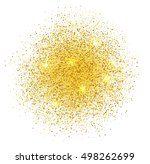 abstract golden dust with light ... | Shutterstock . vector #498262699