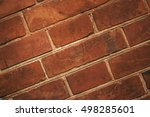 Nature Texture. Red Brick Or...
