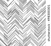 seamless zigzag pattern.... | Shutterstock .eps vector #498300301