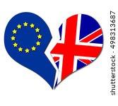 Brexit Illutration Heart Broke...