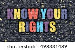 multicolor concept   know your... | Shutterstock . vector #498331489