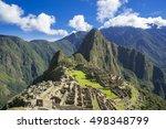 machu picchu ruin | Shutterstock . vector #498348799