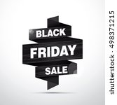 black friday sale banner... | Shutterstock .eps vector #498371215