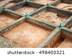 archaeological excavations | Shutterstock . vector #498403321