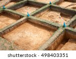 archaeological excavations | Shutterstock . vector #498403351