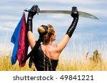 kung fu girl | Shutterstock . vector #49841221