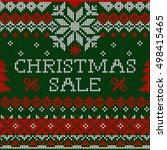 vector illustration christmas... | Shutterstock .eps vector #498415465