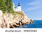 Bass Harbor Lighthouse  Maine ...