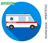 icon ambulance isolated ... | Shutterstock .eps vector #498470761