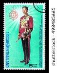thailand   circa 2016  a thai...   Shutterstock . vector #498485665