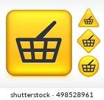 shopping basket on yellow multi ...