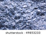 aluminium foil background shot... | Shutterstock . vector #49853233