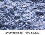 aluminium foil background shot...   Shutterstock . vector #49853233