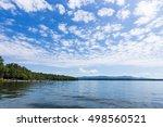 Lake Boat Dock On A Beautiful...