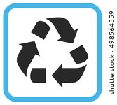 recycle blue and gray vector... | Shutterstock .eps vector #498564559
