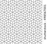 vector seamless pattern. modern ... | Shutterstock .eps vector #498567001