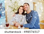 people  communication and... | Shutterstock . vector #498576517
