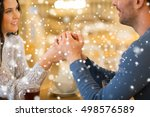 people  love  romance and... | Shutterstock . vector #498576589