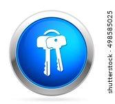 key  icon | Shutterstock .eps vector #498585025