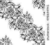 abstract elegance seamless...   Shutterstock . vector #498644941