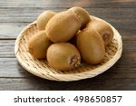 kiwi fruit | Shutterstock . vector #498650857