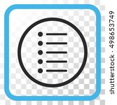 items blue and gray vector icon....