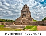 monument to the battle of the... | Shutterstock . vector #498670741