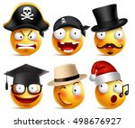 Smiley Face Vector Set Of Funny ...